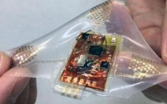 可随身佩戴的伸展装置能够进行无线传输健康数据
