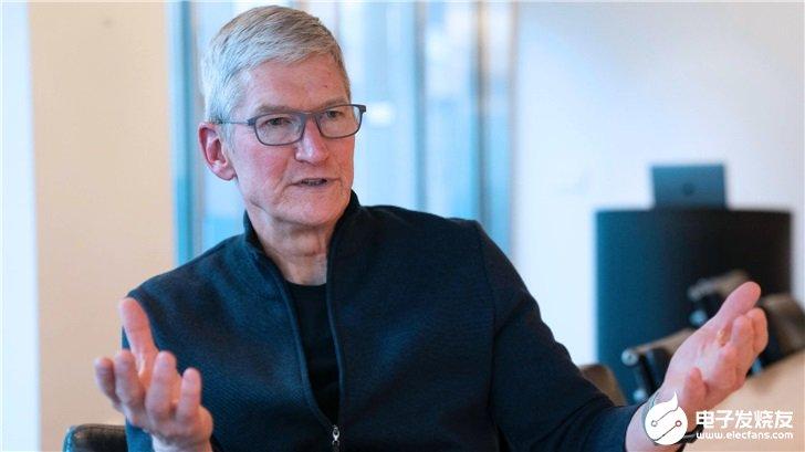 苹果库克:最大的竞争对手是华为和三星