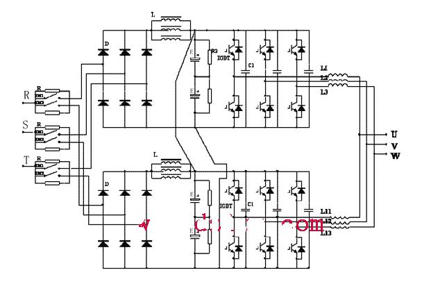 变频器内部主电路详解