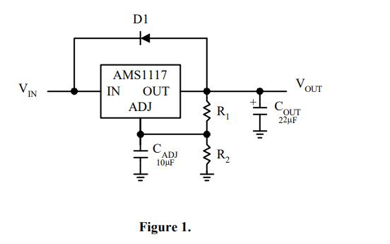 AMS1117固定电压调节器的数据手册免费下载