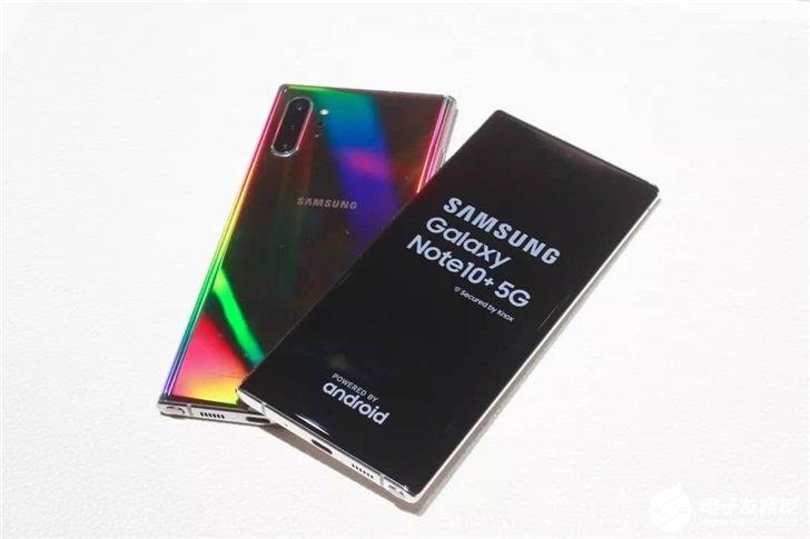 Q3季度全球5G手机总销量430万部,三星的市场份额占比最大