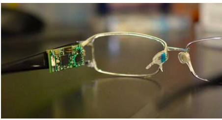 眼镜上内置生物传感器是出于什么目的