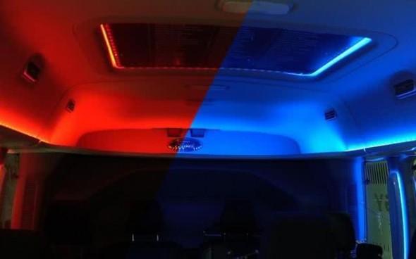 开空调影响电动汽车续航里程,福特通过照明改变温度