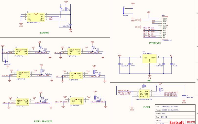 ES-PDS原型开发系统的用户手册和电路图免费下载
