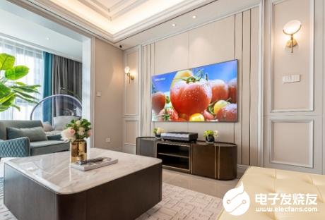 海信75L9S激光电视成销冠 激光电视已成为消费者的大屏首选