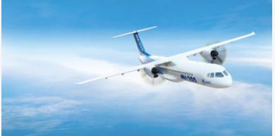 新舟700首飛機的機身前段中段后段都已完成了交付