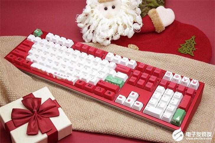 阿米洛和吉利鸭推出机械键盘,具有RGB灯光带有圣诞主题元素