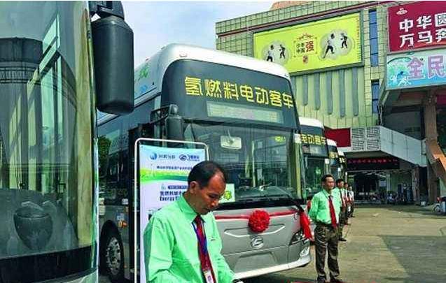 全国首条5G氢能源公交线路正式投入运营