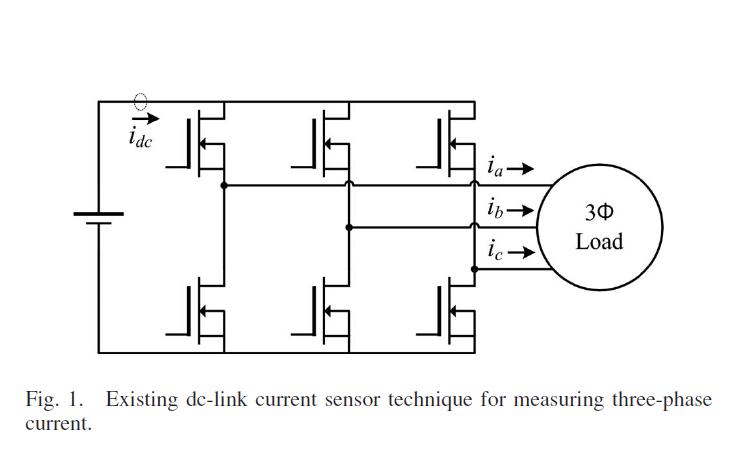 單電流傳感器在線補償電流偏移的三相電流重構策略的詳細資料說明