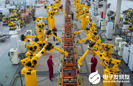 3C电子领域成急?#30830;?工业机器人前景巨大