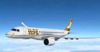 巴航工業的E175-E2飛機成功完成了首飛測試