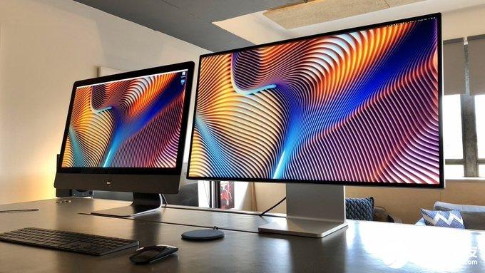 苹果Pro Display XDR可配合Pro Display XDR使用