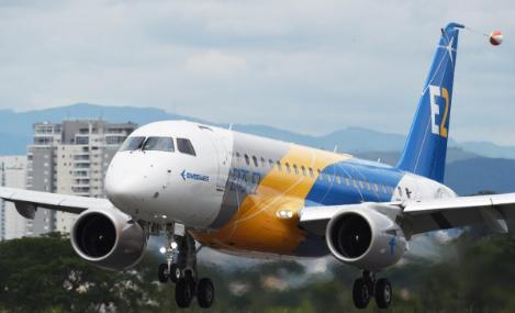 巴航工业计划使用三架E175-E2原型机进行型号认证