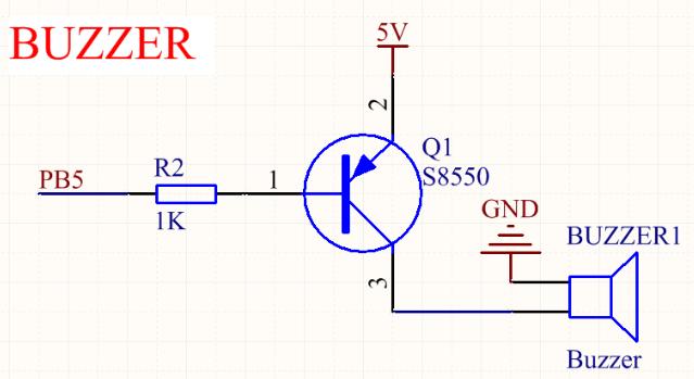 关于调试蜂鸣器驱动电路的解决办法