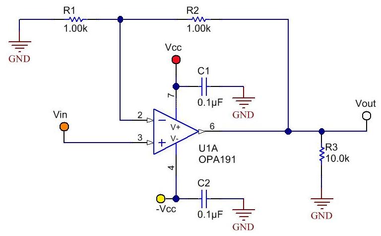 如何正确布设运算放大器的电路板