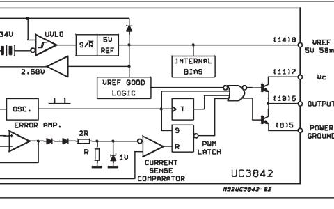 UC3842系列控制芯片的数据手册免费下载