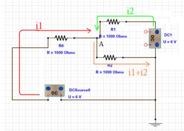 一个电路有两个电源如何分析
