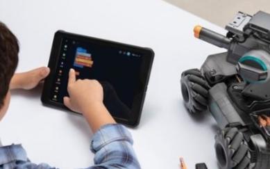 大疆教育机器人RoboMaster S1可在线学...