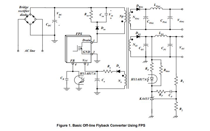 使用离线反激变换器设计开关电源的详细资料说明
