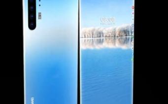 華為5G概念機,2K瀑布屏+麒麟1020+60倍超級變焦