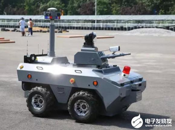 我國應加快產業布局 加大安防機器人領域技術研發