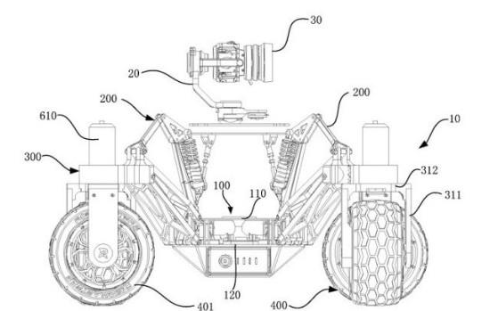 大疆Vehicle專利曝光,是一輛裝有攝像頭的機動漫游車