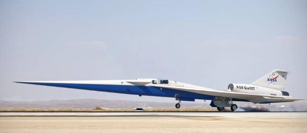 全新一代X-59超音速飞机将在2021年实现首飞