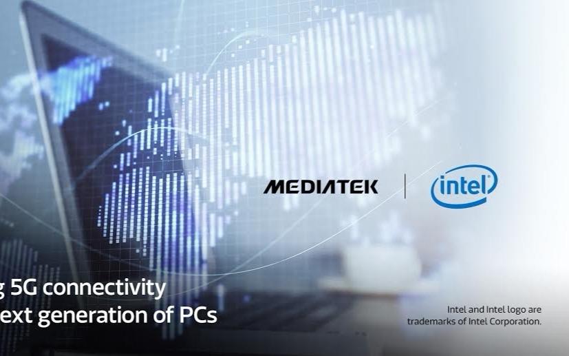 Intel與聯發科打造5G筆電方案 預計2021年上半年才會有