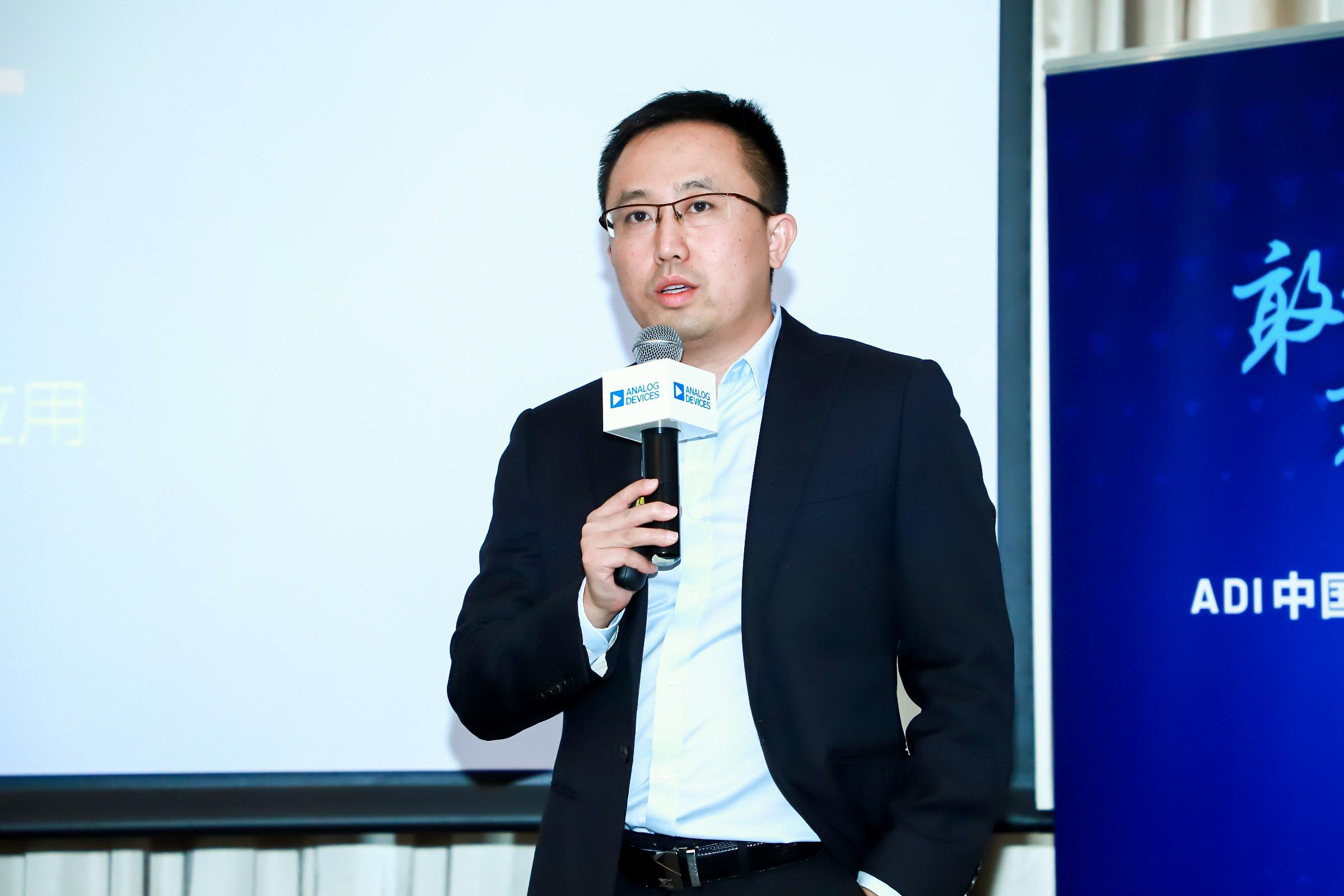 图8:ADI中国区医疗行业市场总监彭智峰。
