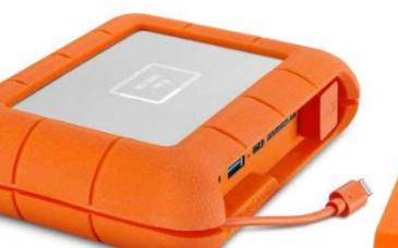 LaCie發布Rugged SSD,助力媒體人士提高其創造力和工作效率
