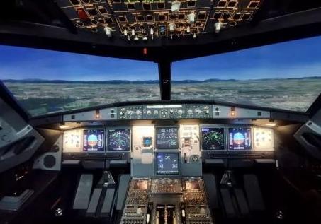 安胜首台空客A320全动飞行模拟机已交付飞安航空训练公司
