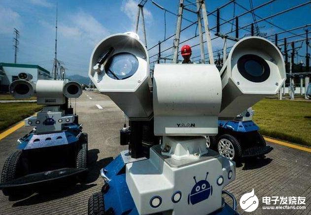 智能巡检机器人开始上岗 保证电网更加安全可靠彩神官方网站地运...