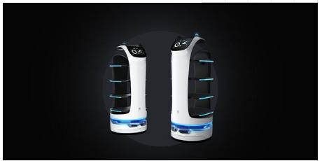 """普渡科技推出兩款全新餐飲機器人,讓機器人""""再一次普渡""""餐飲行業"""