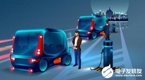 自动驾驶汽车应该是电动车 而不是混合动力或插电式...