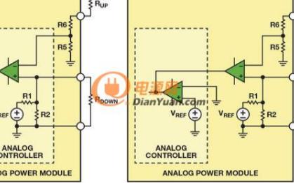 可向后兼容模拟控制的数字电源管理电路
