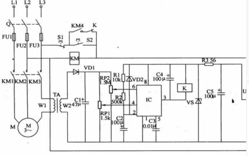 单相电机的热保护如何进行�|