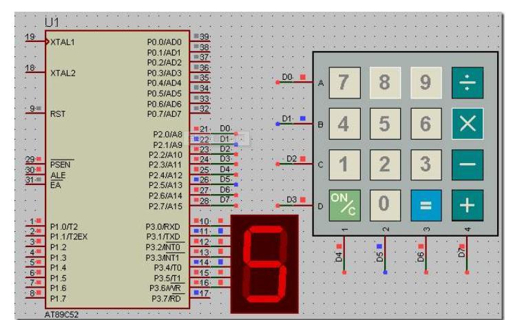 51单片机简单操作系统的定时器切换任务的工程文件免费下载