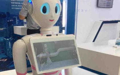 百度智能云与东软集团推出医护助理智能机器人