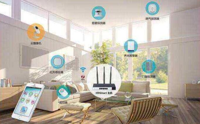 2020年智能家居呈现规模化发展 43%设备接�入两个家居互联平台