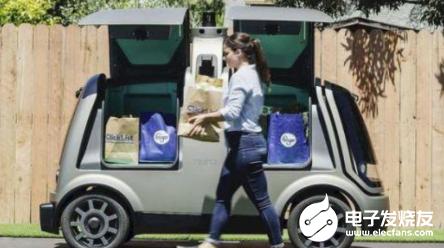 美国加州即将批准 自动机器人将会把外卖送到门口