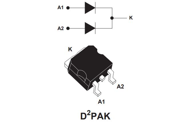STPS40L45CG系列低功耗肖特基整流器的数据手册免费下载