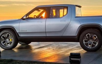 Rivian的监护人模式操作自动驾驶汽车专利