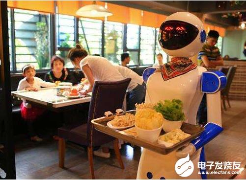 餐饮机器人赋能下 餐饮市场即将迎来蓬勃发展
