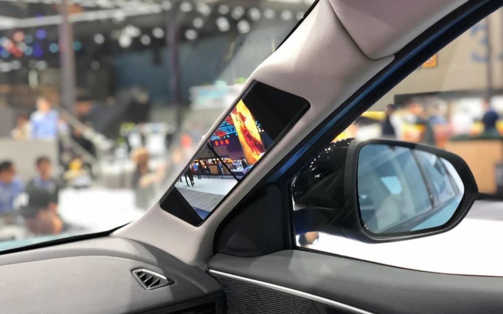 中國面板商進軍車用OLED顯示器市場 透明A柱顯示屏會否成為入口?