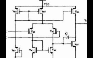 基于PWM控制器的新型CMOS误差放大器设计流程概述
