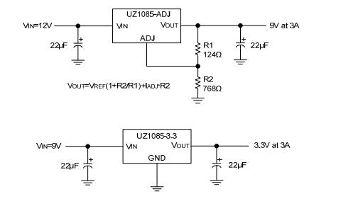 UZ1085线性集成电路的数据手册免费下载