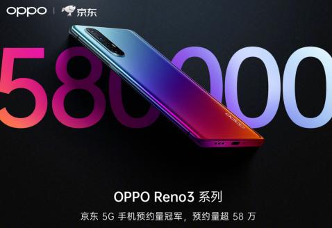 Reno3系列手機將于12月31日正式開售售價3...