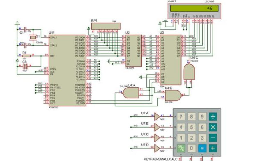 使用8255芯片實現接口擴展的仿真電路圖免費下載