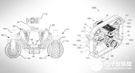 大疆新专利图曝光 一款不会飞的无人机或将面世