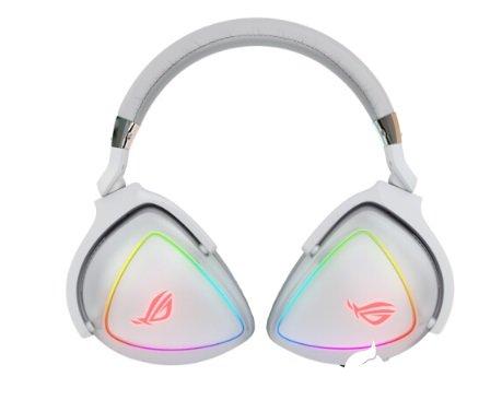 华硕ROG Delta棱镜白色款推出,支持Aura Sync神光同步